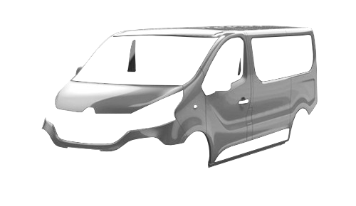 Цвета кузова Trafic Combi